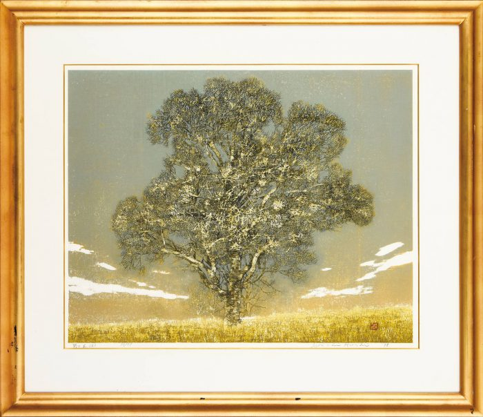 星 襄一「野の木(A)」