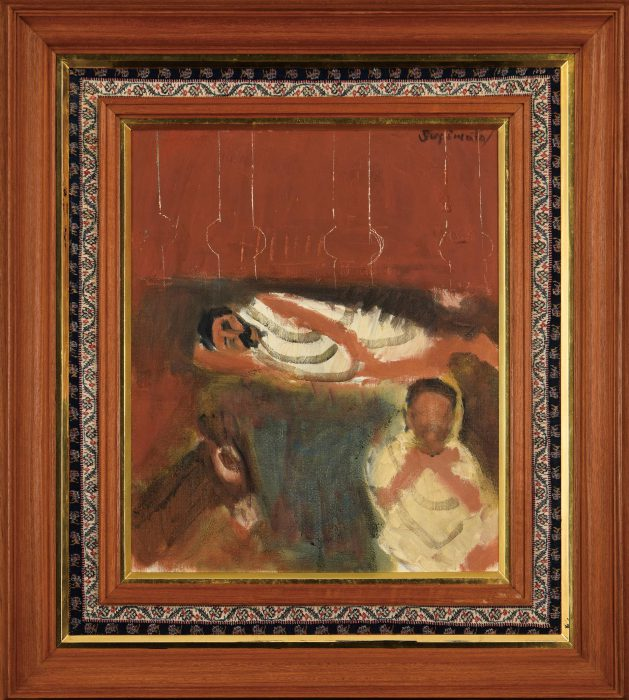 杉本 健吉「印度風景」