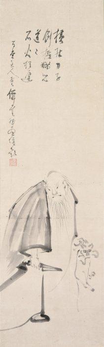 仙厓 義梵「「南泉斬猫」画賛」