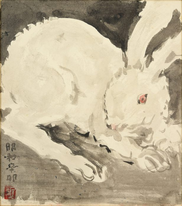 須田 国太郎「兎」